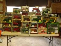 I am looking to sell my toy tractor collection as a