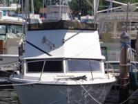 "Boat For Sale Must Go! 1977 26ft J Allmand. 9'6"" beam."