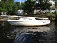 26 foot Pearson 1978 model, this is a good solid