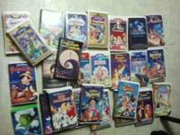 $40 cash and no low ballers  all VHS are in great