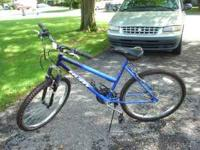 selling this 26 inch bike in excellent Hardly used
