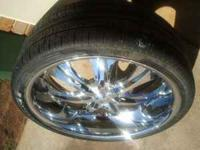 i have a set of all chrome 6 lug chevy 26 inch rims and