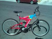 this is a 26 inch mens 1998 HUFFY powerline, this is