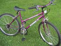 26 inch MAGNA GRAND LEDGE 10 speed mountain bike,