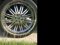 i have 26 inch versante' rims.. fits on a 6 lug chevy