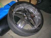 i have some 26 inch rims. all most brand new. wheels