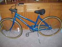 This is a ladies SCHWINN SUBURBAN and it is in