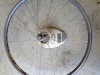 "Excellent condition 26"" Mavic 217 wheelset with XTR"