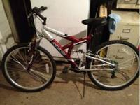men's bike. Hardly ever used maybe 6or 7 times. Nothing