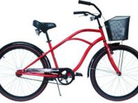 Airwalk 26-Inch Men's Cruiser Bicycle, High Roller,