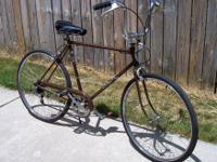 26? Men?s Schwinn Re-Cycled 5-Speed Road Bicycle, Used,