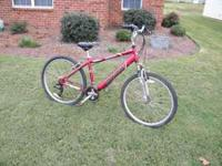 Mongoose Sahara 21 Speed Bicycle. Aluminum frame. Rides