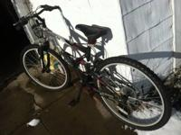 "I have for sale a 26"" mens Mountain bike with a 21"