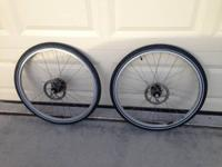 "Really good 26"" mountain bicycle rims with 8 speed"