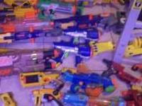 I have 26 new nerf guns. bought them and the kids do