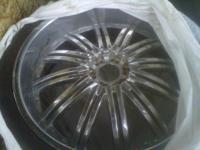Used 26' Rims and tires fit all chevy cars or trucks