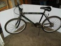 "26""Boys Black Roadmaster Mt. Fury. 15 speed with"