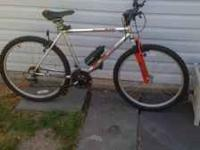 "26"" Royce Union mountain bike brazos mt 18 speed"