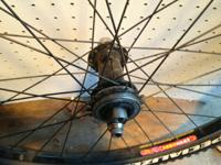 I have a set of 26 inch Velocity AeroHeat rims for