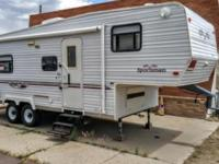 26' Toy Hauler, 2004, 5th wheel, KZ Sportsmen Sportster