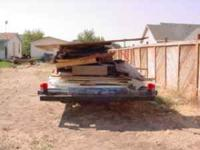 I have a 26 foot flat bed dual Axle trailer for sale