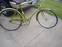 "26"" Vintage Men's Tyler Bicycle - 3 Speed - Made in"