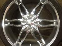 I am selling 4, 6 lug, 26' wheels and tires. Tires are