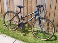 26? Women?s Columbia ?Cumberland? 18-Speed MTB Bicycle,