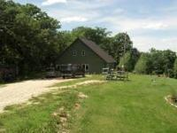 11.5 acres with New home built in 2011, built on a slab