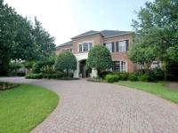 Gorgeous custom built home in an exceptional gated