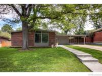 Beautiful Mid-Century Modern Harvey Park brick ranch *