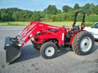 09' 2615 Massey Ferguson 2wd Tractor w/ loader, only 96