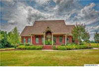 Stunning brick home on 14 acres! Crown moulding,
