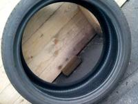265/35/R20/99Y Pirelli Zero. Like new. No uneven wear.