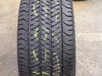 GOT THIS TIRE LIKE NEW 265/65/17 BRIDGESTONE DUELLER