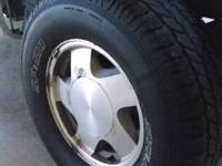 For sale is a set of 4 chevy rims and tires. 4 Starfire