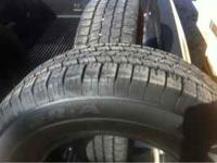 265/70/17 Goodyear wrangler SR-A, just like new, only