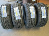 P265/70R17 all new Lanvigator Catchfors A/T $380 for