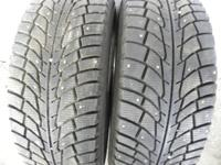 UP FOR SALE  VERY NICE PAIR OF 265/70/17  WINTER TIRES