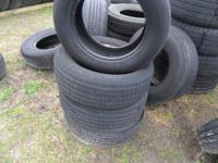 GOOD USED CONDITION GOOD TREAD MOUNT AND BALANCE