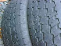 3 goodyear 265/75/16 tires good tread $100 obo for the