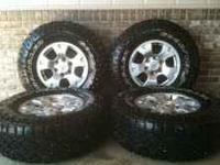 I have a set of Toyota Tacoma wheels that came off of a