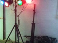 .Decent light system for a bar or wedding band