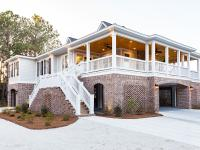 This 2015 raised beach home was custom built by a local