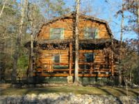 65 acres w/prettiest log home you will ever see joining