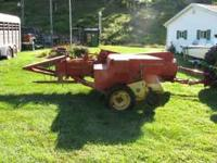 For Sale: 268 NH small square baler with chute. Works
