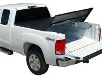 The TonnoPro TonnoFold Tri-Folding Tonneau Cover has