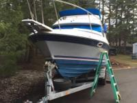 Please call owner Stephen at . Boat is in Spanaway,