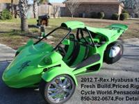 I currently have a 2012 T-Rex / campagna 3 wheel trike