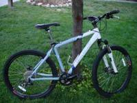16 inch frame. Excellent condition. Disc Brakes.